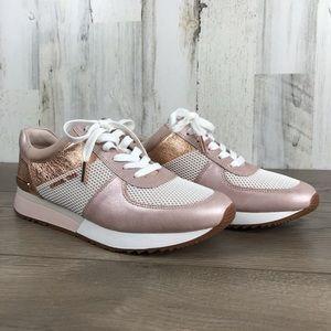 Michael Kors | Allie Trainer RoseGold Pink Sneaker